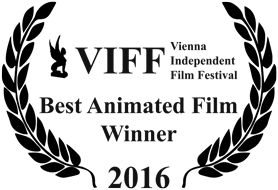 Best Animation: 1st Vienna Independent Film Festival VIFF 2016, Vienna, Austria